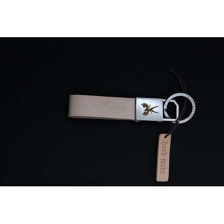 POLISHANGEL® LEATHER KEYCHAIN